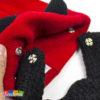 Berretto barba DEVIL diavoletto corna diavolo beardhead staccabile inerno caldo idea regalo diavolo carnevale snow snowboard sci lana acrilico originale - Kadosa