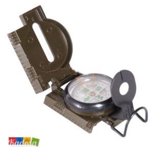 Bussola Rilevamento Metallo + Lente Mirino - Kadosa