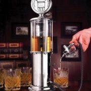 Distributore Bevande a Pompa di Benzina Vintage da 90 ml - Kadosa
