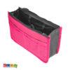 Organizer borsa Rosa Fucsia multicolor organizzazione borsa idea regalo tasche ordine originale - Kadosa