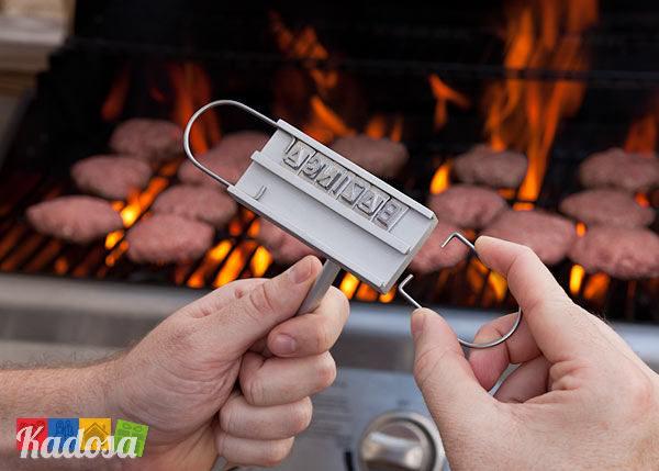 Marchiatore BBQ per Carne grigliata bistecca amici idea regalo chef cuoco personalizza cibo - Kadosa