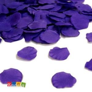 petali viola artificiali sagomani eleganti realistici di rosa fiore festa matrimonio anniversario - Kadosa