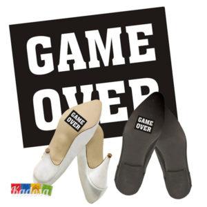 Adesivi Scarpe GAME OVER - Kadosa