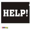 Adesivi Scarpe HELP - Kadosa