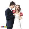Cartelli LOVE Sposo Sposa - kadosa