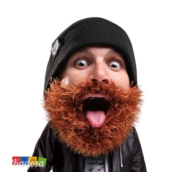 valore eccezionale bambino chiaro e distintivo Berretto HAIRY Barba Pelosa - BEARD HEAD