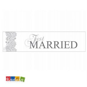Targa Auto SPOSI Just Married Silver Edition - Kadosa