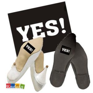Adesivi scarpe Sposi YES! - Kadosa