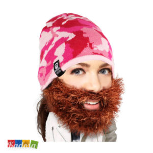 SP2007 Berretto MIMETICO Pink Barba Pelosa Originale BEARD HEAD - Kadosa (1)