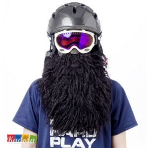 Beard Ski Pirate con Barba Yeti Nera - Kadosa