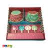 Pirottini Cupcake DOTTY con Topper - Kadosa
