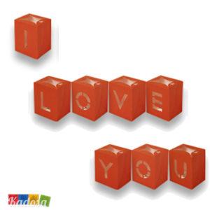 Lanterne Luminose Scritta I Love You - Kadosa