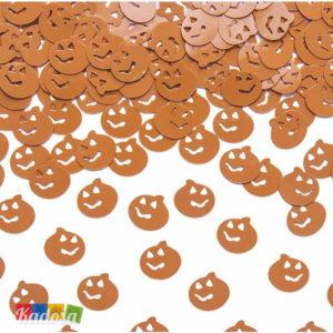 Coriandoli Zucca Arancioni Ideale per Decorare la Tavola ad Halloween - Kadosa