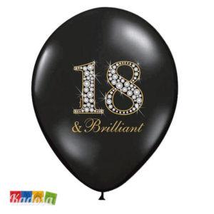 Palloncini 18 Anni Set 50pz - Kadosa