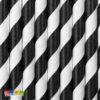 Cannucce Carta Spirale Nera da 19,5 cm Set 10pz - Kadosa