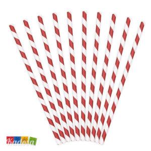 Cannucce Carta Spirale Rossa