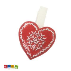 Mollette Cuore Natale - Kadosa