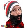 Berretto RIGHE con Barba Originale BEARD HEAD - Kadosa
