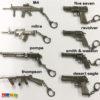 Portachiavi Pistola o Fucile - Kadosa