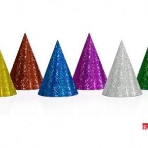 Cappello Cono Glitter - Kadosa