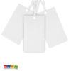 Cartoncini Segnaposto Bianco perlato - Kadosa