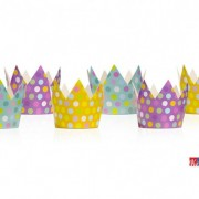 Set 6 pz Corona Party Pois - kadosa