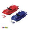 Slitta Alpen Race F1 Rosso o Blu con Volante Sportivo - Kadosa