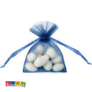 Bustine Organza Blu Piccolo - Kadosa