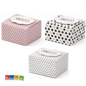 Scatola Box Porta Confetti SWEETS - Kadosa