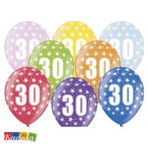 Palloncini 30 Anni Multicolor - Kadosa