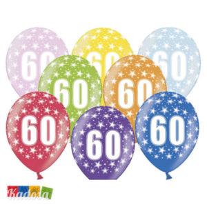 Palloncini 60 Anni Multicolor - Kadosa