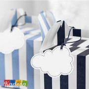 Cartoncino Segna Posto Nuvola Set 6pz - Kadosa