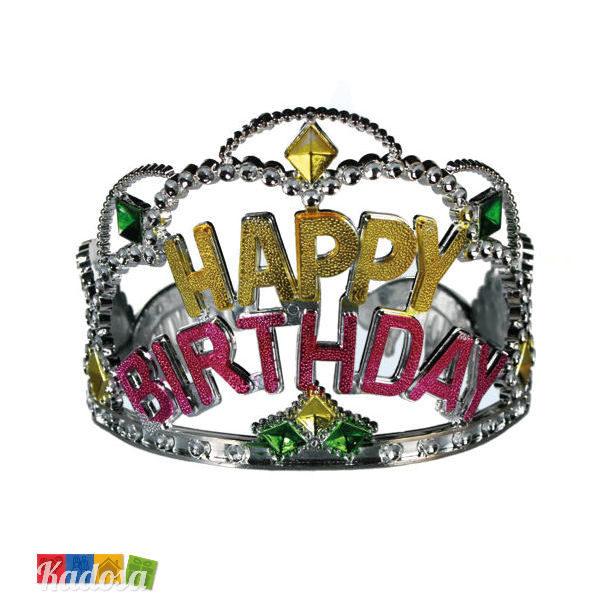 Corona Happy Birthday Per Festeggiare Alla Grande