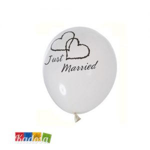 Palloncini Just Married - kadosa