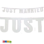Banner Just Married - kadosa