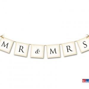 banner Mr & Mrs - kadosa