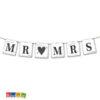 Banner Mr & Mrs con Cordino Incluso Vintage Style - Kadosa