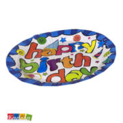 Piatti Happy Birthday Multicolor - Kadosa
