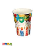Set Bicchieri Happy Birthday Candeline - Kadosa
