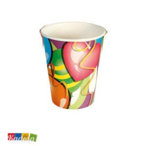 Set Bicchieri Cuori Happy Birthday - Kadosa