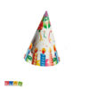 Set Cappelli Cono Happy Birthday Candeline - Kadosa