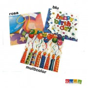 Set Tovaglioli Happy Birthday - kadosa