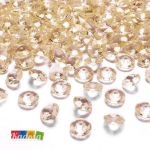 Diamanti Decorativi Pesca Oro Avorio - Kadosa