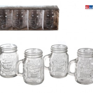 Mini Bicchiere Barattolo - kadosa