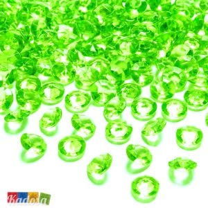 diamanti decorativi VERDE lime - kadosa