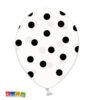palloncini bianchi pois neri - Kadosa