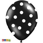 palloncini neri pois bianchi - Kadosa