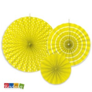 Rosette Decorative GIALLE Set 3 pz - Kadosa