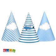 Cappellini Cono Aeroplano Set Party Pilota - Kadosa