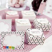 Tovagliette Choco Sweets di Carta Set 6 pz - Kadosa